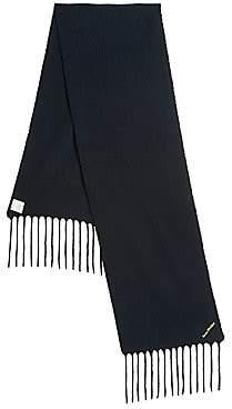 Acne Studios Men's Villy Stretch-Wool Scarf