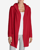 Eddie Bauer Women's Sleep Sweater Hooded Cardigan