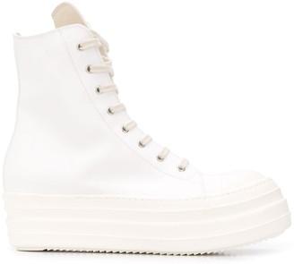 Rick Owens Side-Zip Sneaker-Boots