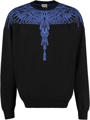 Marcelo Burlon County of Milan Long Sleeve Crew-neck Sweater