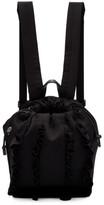 3.1 Phillip Lim Black Satin Mini Go-Go Ruffles Backpack