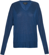 Isabel Marant Elmwood cashmere and silk-blend knit sweater
