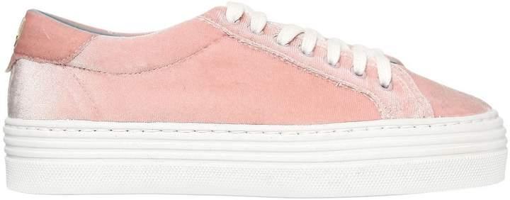 Chiara Ferragni 40mm Velvet Sneakers