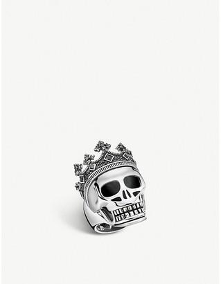 Thomas Sabo Rebel Kingdom skull crown silver ring