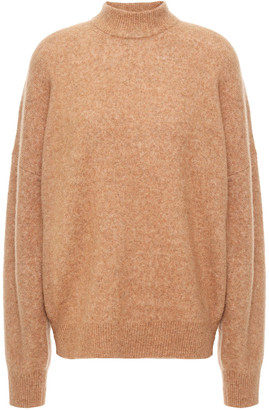 IRO Almy Melange Brushed-knitted Sweater