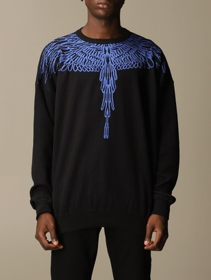 Marcelo Burlon County of Milan Cotton Blend Sweater With Wings