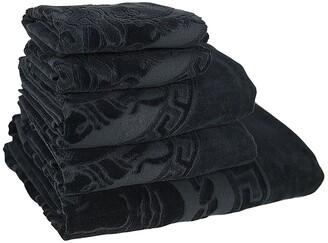 Versace MEDUSA CLASSIC SET OF 5 COTTON TOWELS
