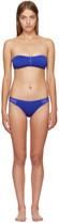 Stella McCartney Blue Neoprene & Mesh Bikini