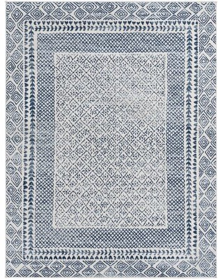 "Surya Roma Oriental Navy Area Rug Rug Size: Rectangle 7'10"" x 10'"