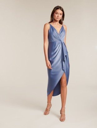 Ever New Adelina Waterfall Slip Midi Dress