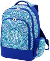 Viv&Lou Backpacks - Blue Day Dream Monogram Backpack