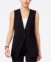 MICHAEL Michael Kors Long Single-Button Vest