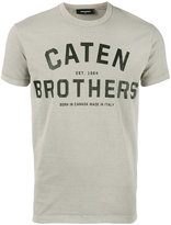 DSQUARED2 Caten Brothers T-shirt - men - Cotton - L