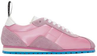 MM6 MAISON MARGIELA Pink Retro Sneakers