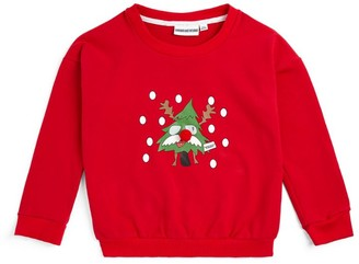 Gardner And The Gang Christmas Tree Sweatshirt (3-12 Years)