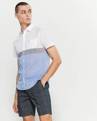Original Penguin Color Block Pocket Shirt