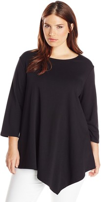 Joan Vass Women's Plus-Size Tunic