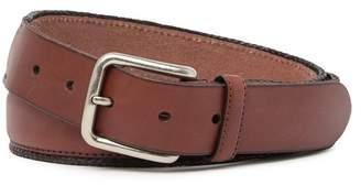 Tommy Bahama Braided Edges Leather Belt