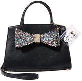 Betsey Johnson Oh Bow You Don t Rock Candy Convertible Satchel
