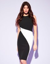 Lipsy Asymmetric Bodycon Dress