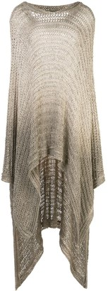 Avant Toi Degrade Knitted Poncho