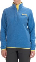 Columbia Harborside Fleece Jacket - Snap Mock Neck (For Women)