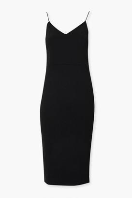 Forever 21 V-Neck Cami Bodycon Dress