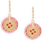 Theatre Products button pendant earrings