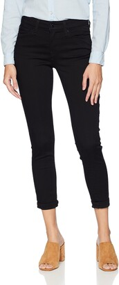 Signature by Levi Strauss & Co. Gold Label Women's Mid Rise Skinny Cuffed Jeans