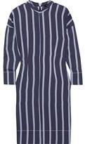 Bassike Striped Twill Dress