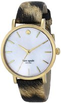 Kate Spade Women's 1YRU0485 Metro Analog Display Japanese Quartz Multi-Color Watch