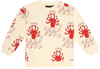 Mini Rodini Octopus organic-cotton sweatshirt