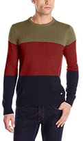 Dickies Men's Dakota Three-Tier Color-Block Sweater