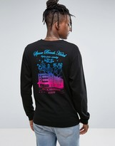 Billionaire Boys Club Long Sleeve T-Shirt With Hotel Back Print