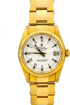 Rolex Pre-Owned 18k Oyster Perpetual Datejust Bracelet Watch