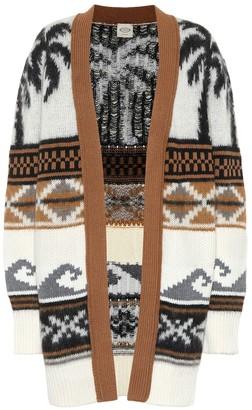 Tod's Wool-blend jacquard cardigan