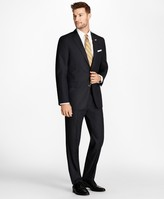 Brooks Brothers Regent Fit Blue Herringbone 1818 Suit