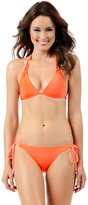 Voda Swim Neon-Orange Double String Bottom