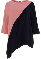 Phase Eight Gilly Colour Block Blouse