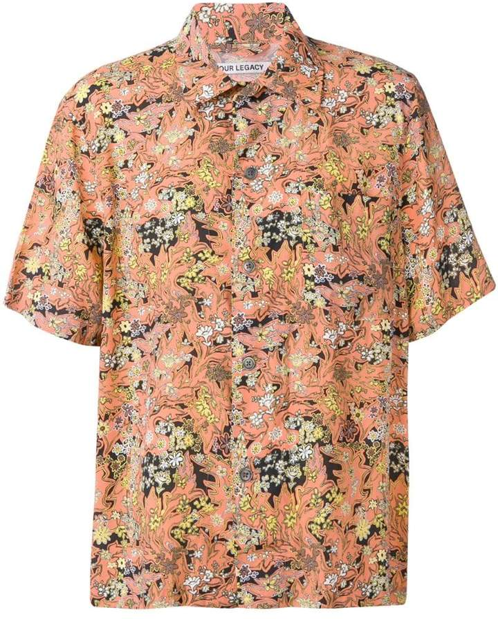 Our Legacy All-over print shirt