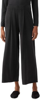 Eileen Fisher Wide Ankle Pleated Pants