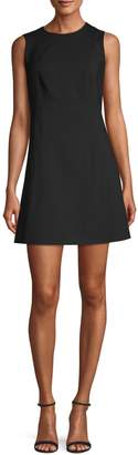 Theory Helaina Wool-Blend Sheath Dress