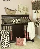 Cotton Tale Designs Raspberry Dot 8-Piece Crib Bedding Set