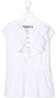 Touriste Ruffled Detail Blouse