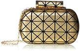La Regale Geometric Minaudiere Clutch Bag