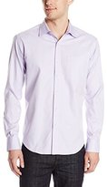 Bugatchi Men's Luca Long Sleeve Shaped Button Down Shirt