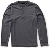 Murano Liquid Luxury Slim-Fit Long-Sleeve Henley