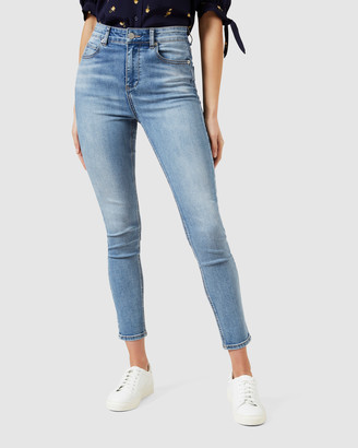 French Connection High Rise Skinny Jeans