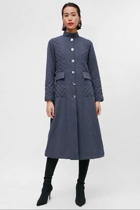 Yvette Libby N'Guyen Paris Women_ Trenchcoat/ Manteaux_ Navy Peony