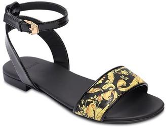 Versace Sandals W/ Baroque Print